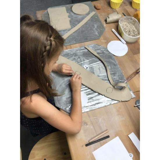 Gyerek workshopok (havi csomag) agyagozós + festős vegyesen