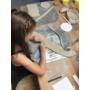 Kép 1/2 - Gyerek workshopok (havi csomag) agyagozós + festős vegyesen